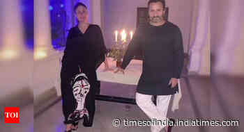 RARE picture of Bebo and Saif