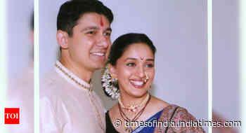 Madhuri's post on her marriage anniversary