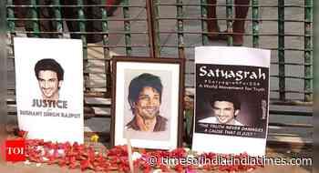 Fans held SSR tribute event in Kolkata