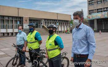 Mendoza: Ciudad presentó el nuevo cuerpo de bicipreventores que patrullará el microcentro - Cuyonoticias
