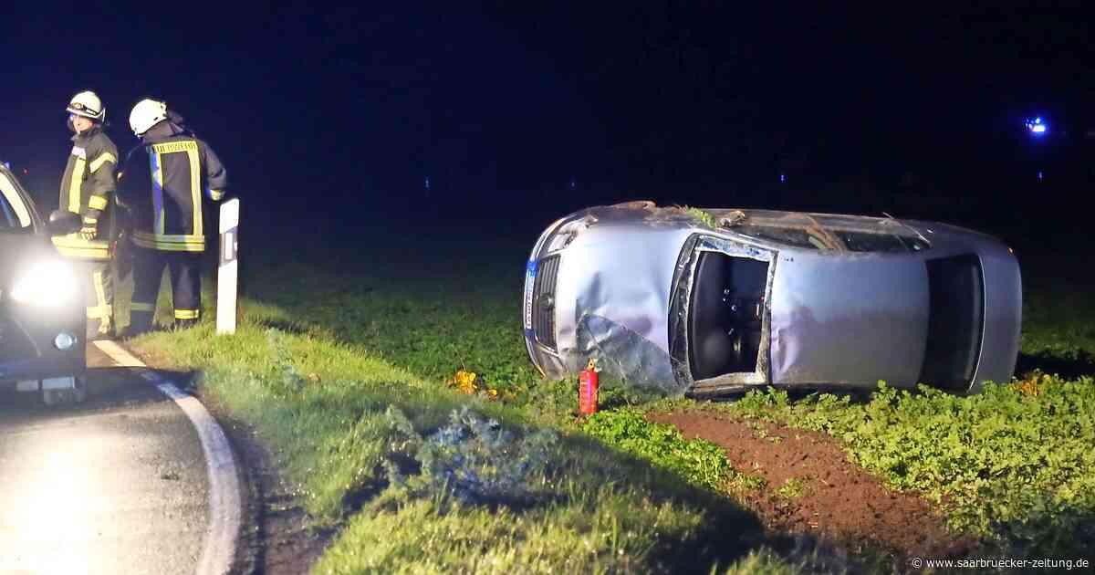 29-Jähriger aus dem Kreis Merzig-Wadern wird bei Unfall leicht verletzt - Saarbrücker Zeitung