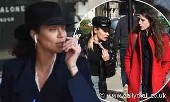 Lilly Becker enjoys girls' lunch with Elen Rivas and Bianca Bowie-Phillips in London