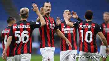 Ibrahimovic double gives Milan 2-1 derby win