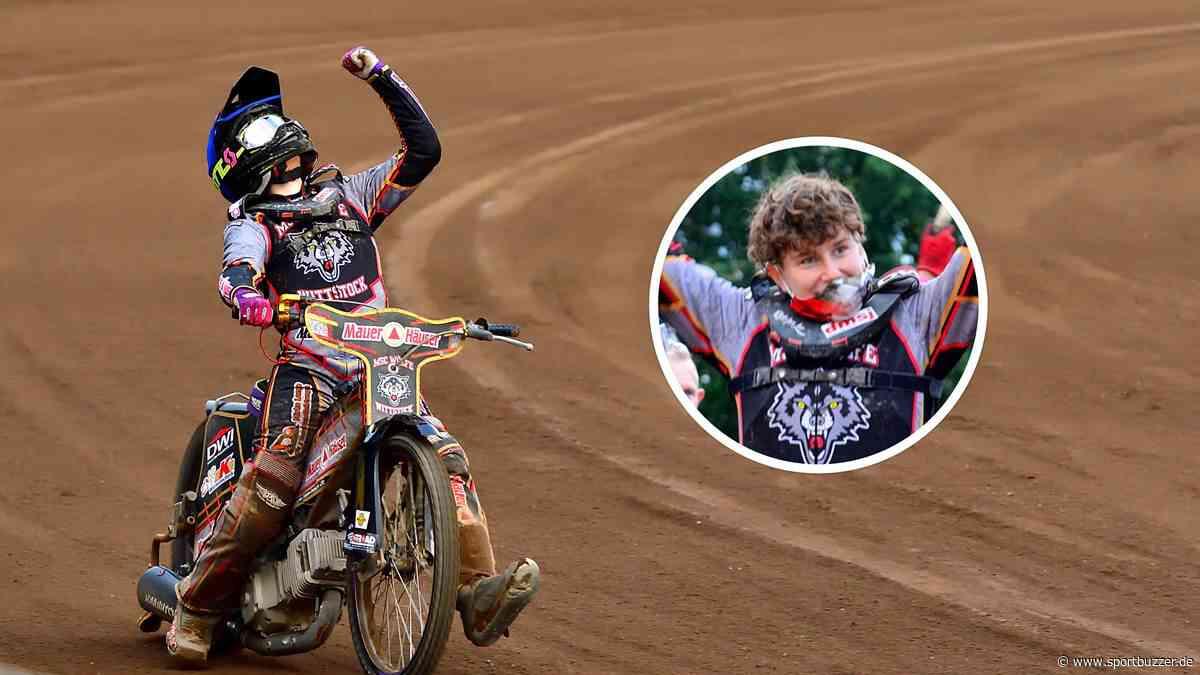 Historisches auf dem Heidering Wittstock: Celina Liebmann schreibt Speedway-Geschichte - Sportbuzzer