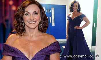 Strictly Come Dancing's Shirley Ballas cuts a glamorous figure