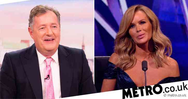 Piers Morgan jokes he made Ofcom complaint about Amanda Holden's BGT dress: 'I thought that you were wearing too many clothes'