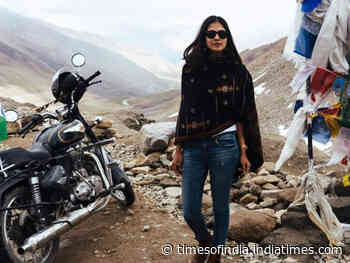 Malavika says she can't wait to go for a bike ride
