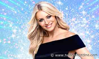 Tess Daly dazzles in seriously sparkling dress for Strictly 2020 launch
