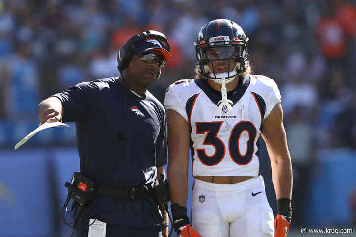 Broncos running backs coach Curtis Modkins, will not join team for game against Patriots