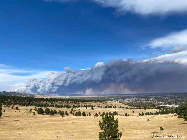 CalWood Fire Forcing Several Evacuations & Closures In Boulder County