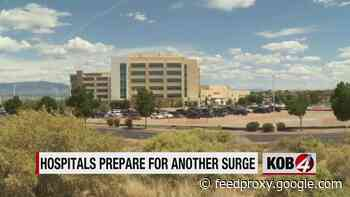 New Mexico hospitals nearing 'tipping point' as COVID-19 cases surge