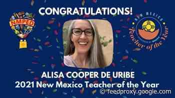 Charter school teacher named New Mexico Teacher of the Year