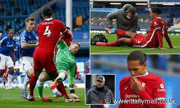 Liverpool braced for the worst after Virgil van Dijk suffered horror injury