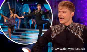 Strictly's HRVY reveals he is 'buzzing' to perform on the BBC show