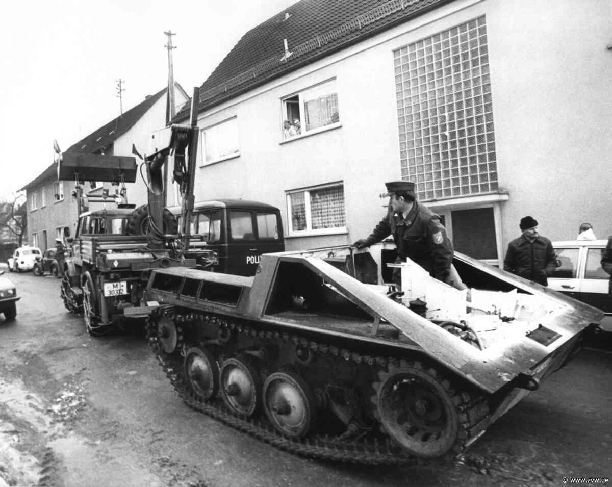 Kriegsspiele in Wehrmachtsuniform: Ging es bei der Razzia in Backnang um eine rechtsextreme Wehrsportgruppe? - Rems-Murr-Kreis - Zeitungsverlag Waiblingen
