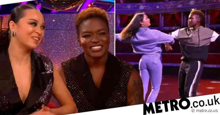 Strictly 2020 viewers 'chuffed' to see Nicola Adams and Katya Jones as they make show history for being same-sex couple