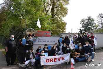 Seine-et-Marne. Bois-le-Roi : le personnel de la clinique psychiatrique du Pays de Seine en grève - actu.fr