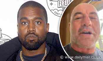 Kanye West confirms upcoming appearance on The Joe Rogan Experience podcast