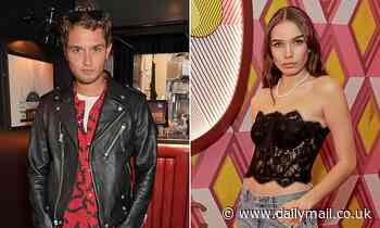 TALK OF THE TOWN: Brooklyn Beckham's ex Hana Cross is spotted kissing Jude Law's son