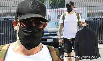 AJ McLean attends DWTS rehearsal after opening up trying cocaine for the first time at 22