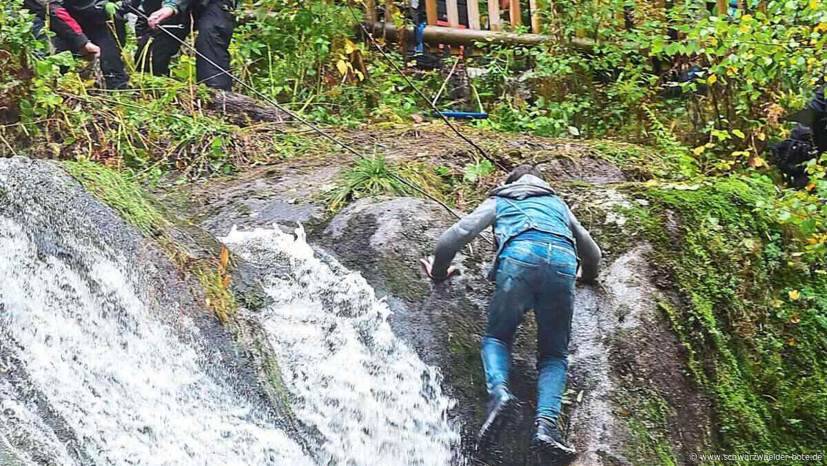 Triberg: Wasserfall wird zur Film-Kulisse - Triberg - Schwarzwälder Bote