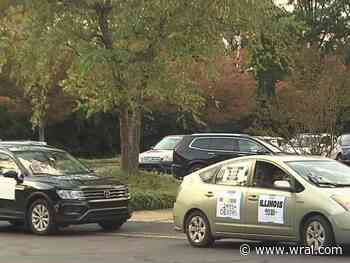 N.C. Association of Educators holds 'funeral procession' for those who died of COVID-19