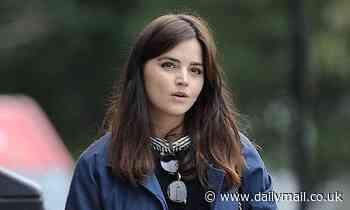Victoria star Jenna Coleman boots out break-up blues - in her £1,100 chunky shoes