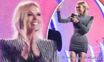 Big Brother host Sonia Kruger swaps her feels for flat shoes as she films for the new series