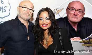 Phil Collins's ex-wifeOrianne Cevey 'sent him a text'