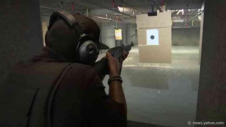 Gun stocks, gun sales jump as Biden's lead grows