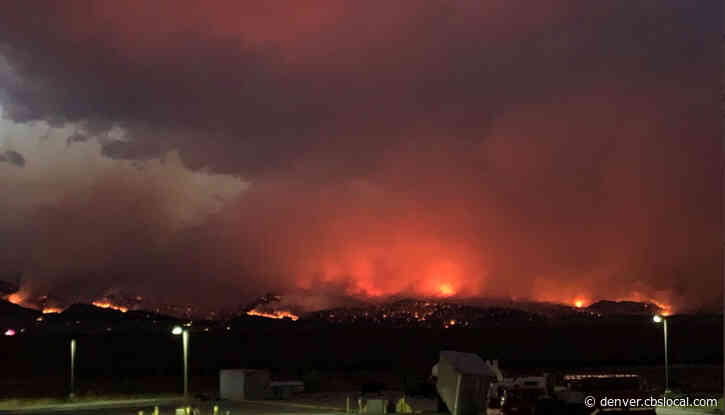 CalWood Fire Burns More Than 7,000 Acres In Boulder County On The Day It Starts