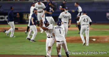 Rays Thwart Astros' Comeback and Reach Their Second World Series