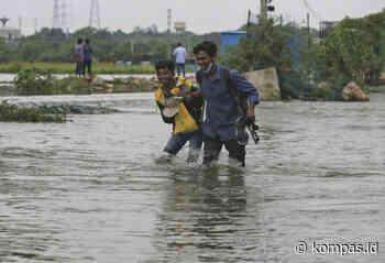 Banjir Melanda Hyderabad di India, Belasan Orang Tewas - kompas.id