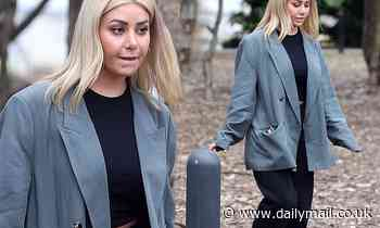 MAFS' Martha Kalifatidis fails to raise a smile as she resumes filming for Celebrity Apprentice