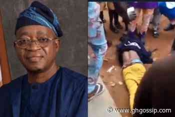 Osun State Governor Oyetola Kills A Peaceful #EndSARS Protester In Oshogbo (VIDEO) - GH Gossip