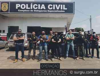 Operação da Polícia Civil em Araguaina resulta em prisões, resgate de um cachorro e na apreensão de objetos e dinheiro - Surgiu