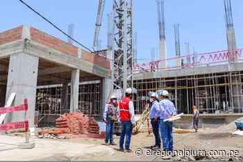 Piura: construcción del Hospital Los Algarrobos presenta un avance del 18% - El Regional