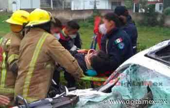 Cae árbol encima de auto en #Tenancingo; deja un muerto y tres heridos - DigitalMex