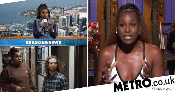 Issa Rae fans couldn't be prouder as Insecure star makes Saturday Night Live debut