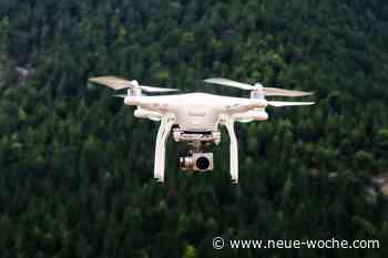 Drohnenflug für Glasfaserausbau » Aerzen - neue Woche