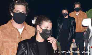 Sofia Richie looks effortlessly chic as she enjoys a dinner date with mystery man in Malibu