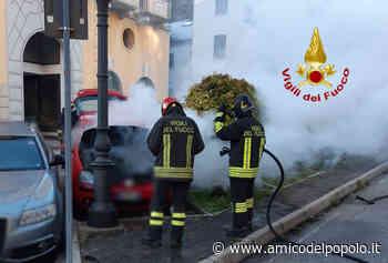 Auto in fiamme a Pieve di Cadore - L'Amico del Popolo