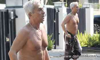 Bruno Tonioli, 64, goes shirtless on outing in LA as Strictly Come Dancing returns without him