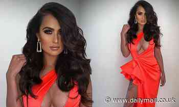 Arabella Del Busso puts on an eye-popping display as she steps out for the AFL Brownlow Medal