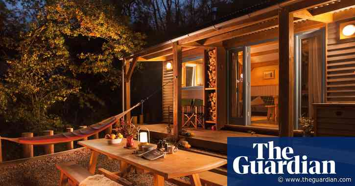 The Devon cabins so cosy you might want to take one home