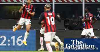 Zlatan Ibrahimovic double strike gives Milan derby victory over Inter - The Guardian