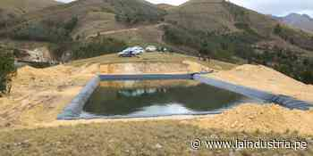 Santiago de Chuco: 1650 reservorios producirán 20 mil toneladas de productos - La Industria.pe