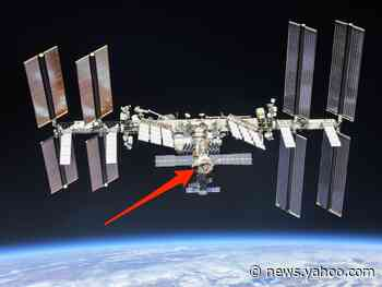 An oxygen-supply system on the space station's Russian side has failed
