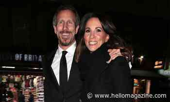 Andrea McLean wows in plunging black dress for romantic date night