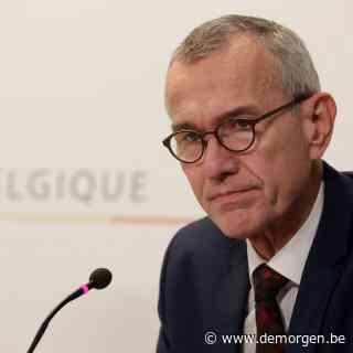 Vandenbroucke: 'Situatie in Brussel en Wallonië is gevaarlijkste van heel Europa'